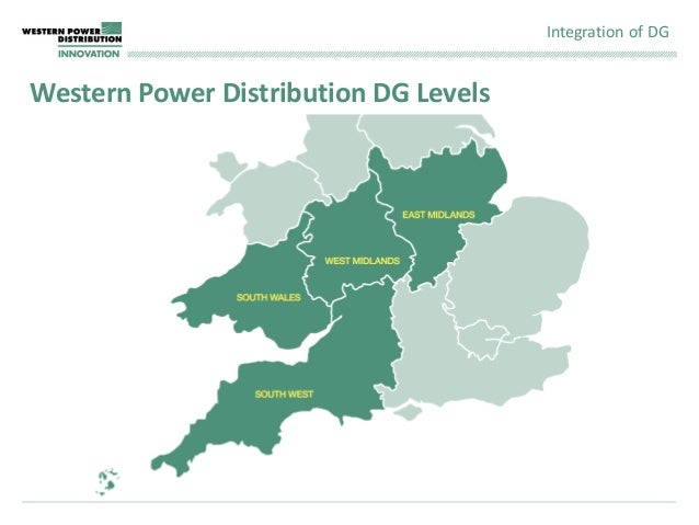 Western Power Distribution Map