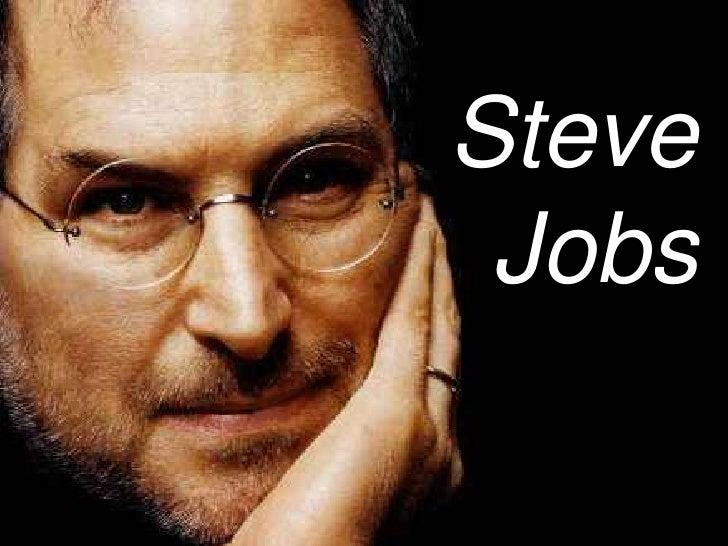 Steve<br />Jobs<br />