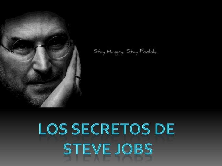 LOS SECRETOS DESTEVE JOBS