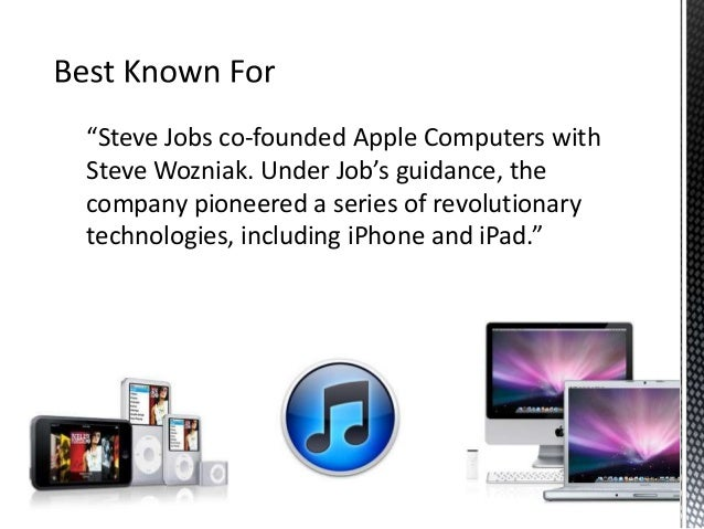 leadership case study steve jobs Apple was founded by steve wozniak and steve jobs in 1976  a leadership case study: apple  and the company began a time of turbulence during which .