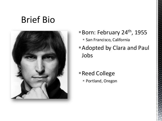 case study steve jobs As a vc, i felt compelled to write my first blog for huffington post inspired by one of the greatest entrepreneurs of our time: steve jobs he was a bri.