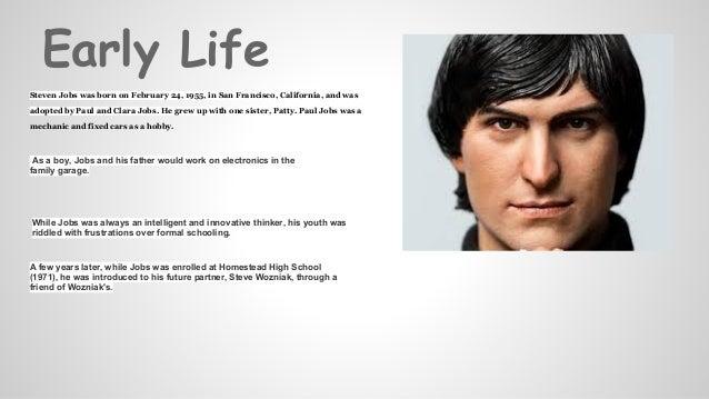 Steve jobs PPT Presentation by Karan Vir Singh Bajaj