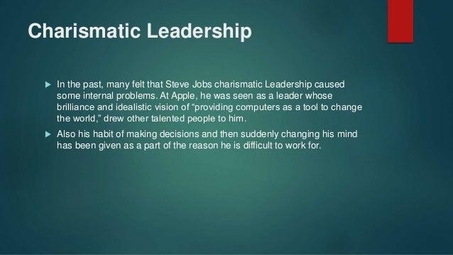 Apples steve jobs the visionary leader