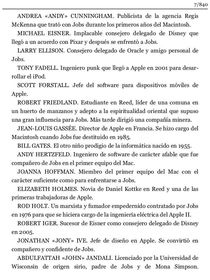 Resumen Libro Steve La Biografia Steve Resumen De Su Libro Resume