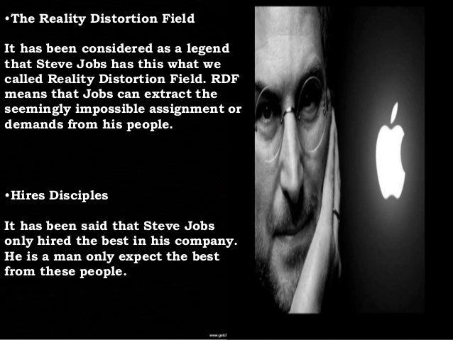 Steve jobs management style