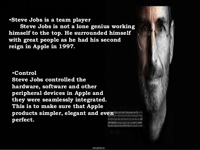 steve jobs leadership style and analysis Relevant leadership theories in relation to steve jobs print reference this published: 23rd march, 2015 disclaimer: this essay has been submitted by a student this is not an example of the work written by our professional essay writers you can view samples of our professional work here any opinions, findings, conclusions or.
