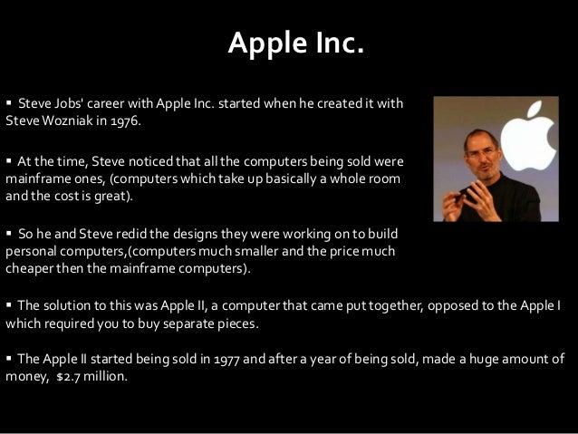 steve jobs, Modern powerpoint