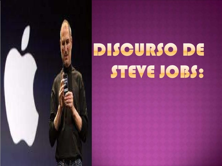 Discurso de Steve Jobs:<br />