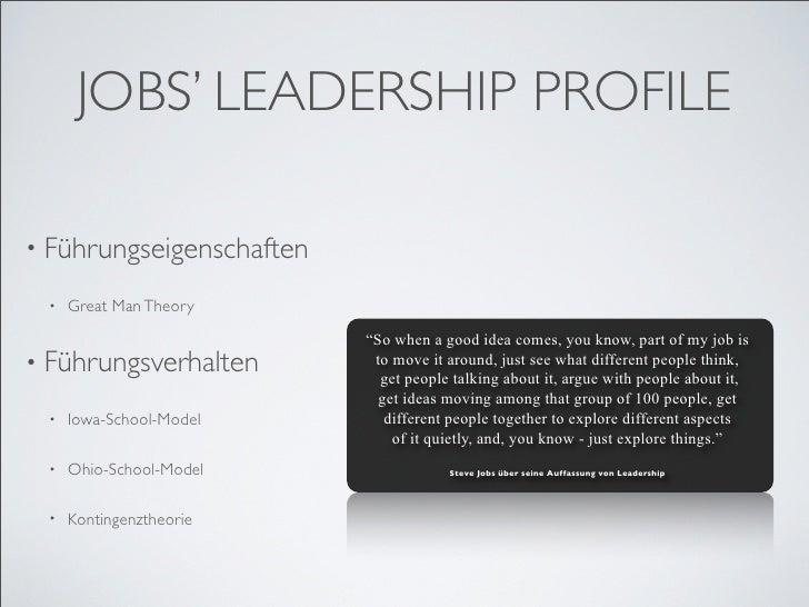 steve jobs profile Leadership qualities of steve jobs, steve jobs leadership success, job ashton kutcher, ashton kutcher speech, steve jobs weaknesses, steve jobs innovate.