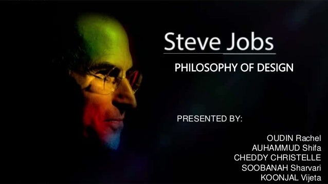 Steve Jobs Philosophy Of Design