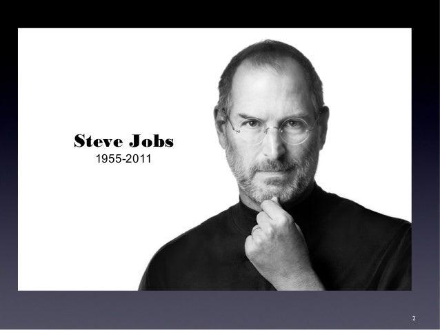 Lessons of Steve Jobs Slide 2