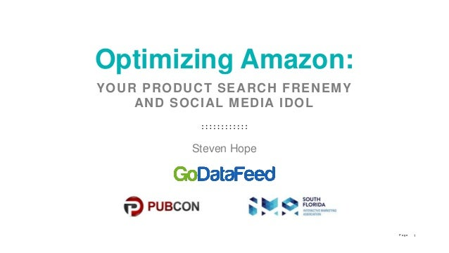 c702aa17a7 Optimizing Amazon: Your Product Search Frenemy and Social Media Idol