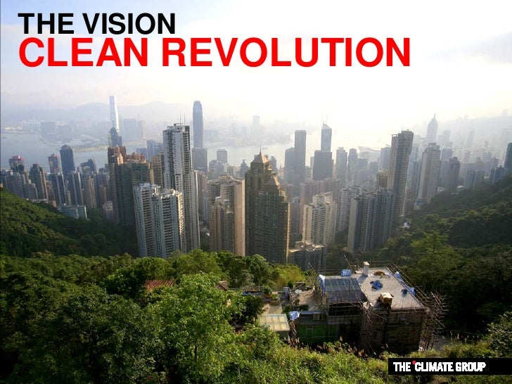 THE VISION CLEAN REVOLUTION