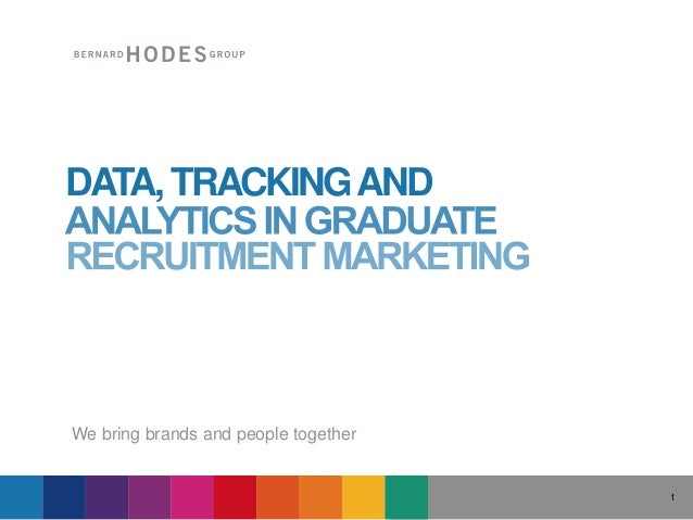 We bring brands and people together 1 DATA,TRACKINGAND