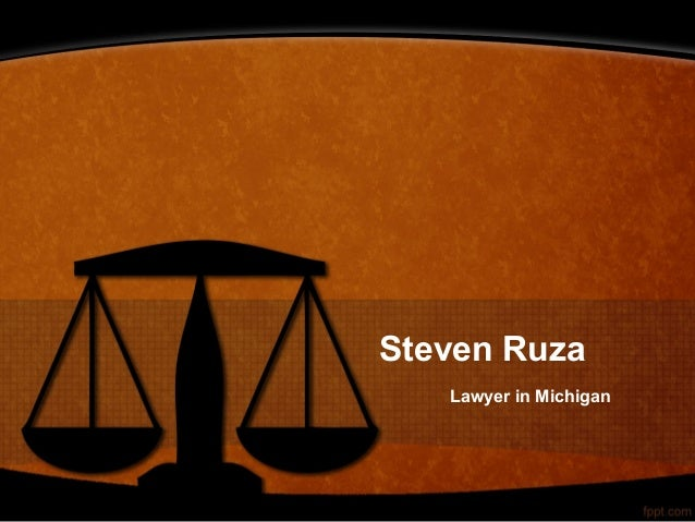 Steven Ruza Lawyer in Michigan