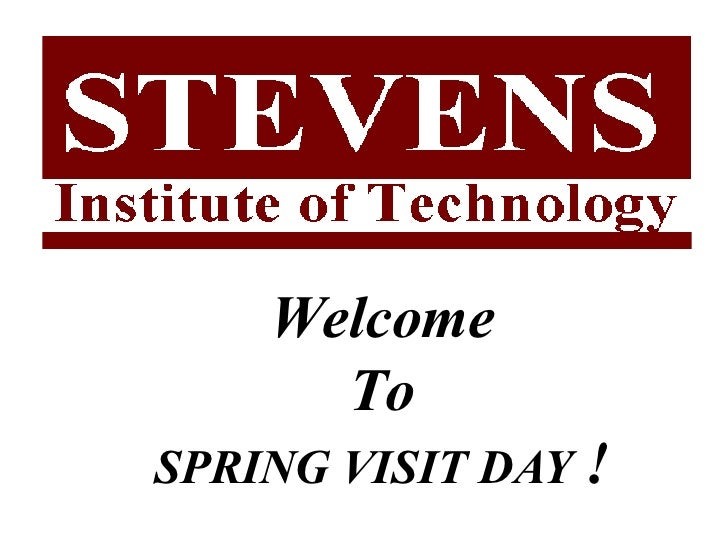 Welcome To SPRING VISIT DAY  !