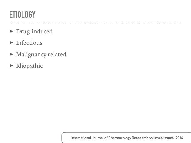 ETIOLOGY : DRUG-INDUCED Autoimmunity Review 7 (2008) 598-608