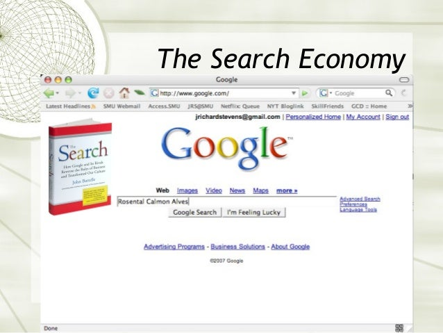 The Search Economy