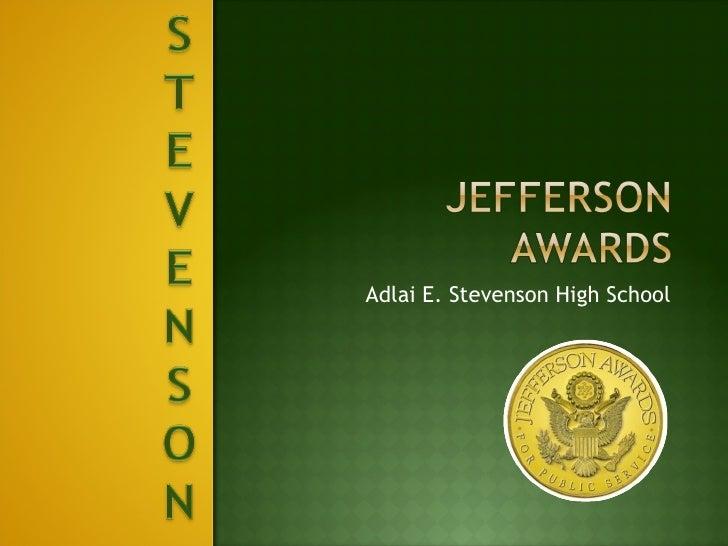 Adlai E. Stevenson High School