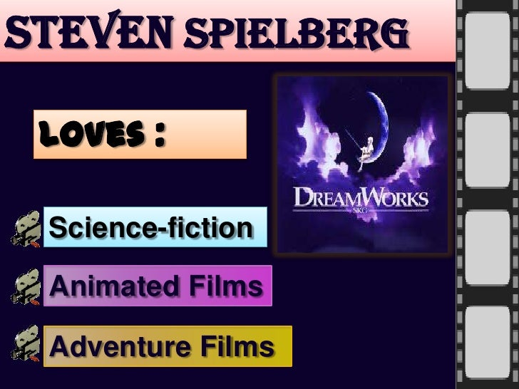 the life and works of the american director producer and screenwriter steven spielberg Template:infobox actor steven allan spielberg, kbe (born december 18, 1946) is an american film director, screenwriter, and film producer in a career spanning six decades, spielberg's films have covered many themes and genres spielberg's early science-fiction and adventure films were seen as.