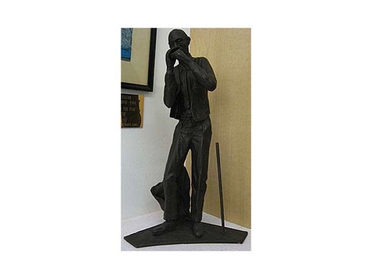 Steven Weitzman's Maquette of Elijah Pierce Statue
