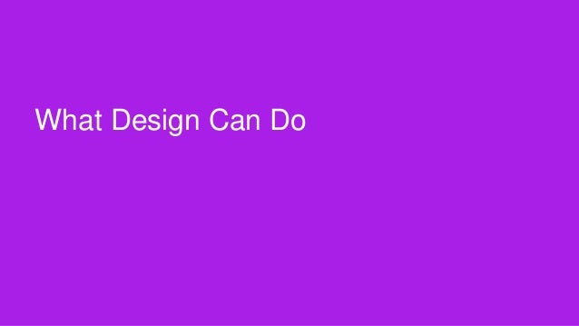 Click to edit Master title style  What Design Can Do  Designing the Problem ‹#› Portigal