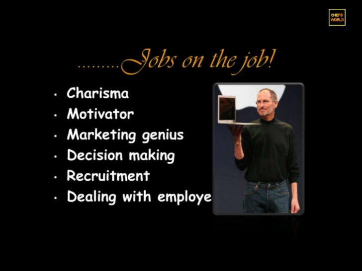 Can i write my thesis on Steve jobs?