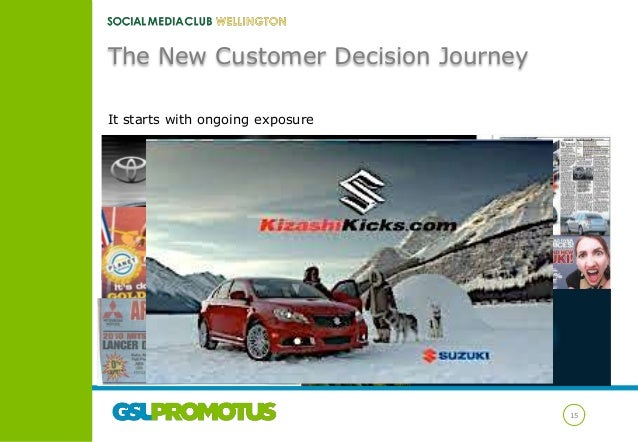 The New Customer Decision Journey It starts with ongoing exposure  15