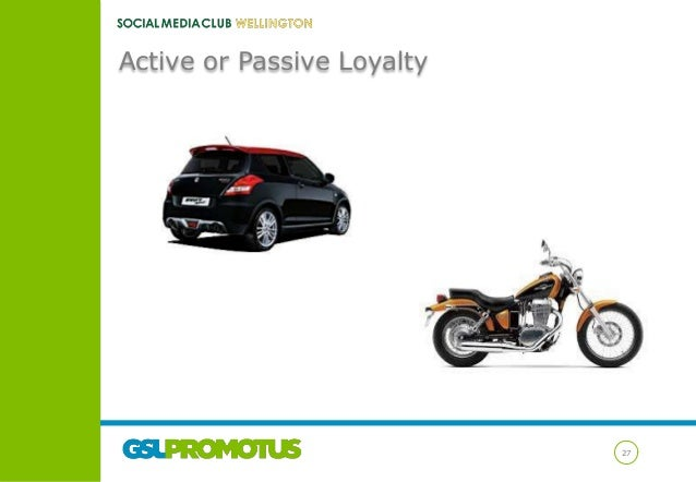 Active or Passive Loyalty  27
