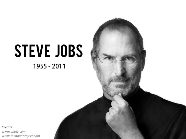 Bekende Citaten Steve Jobs : Steve jobs credits apple