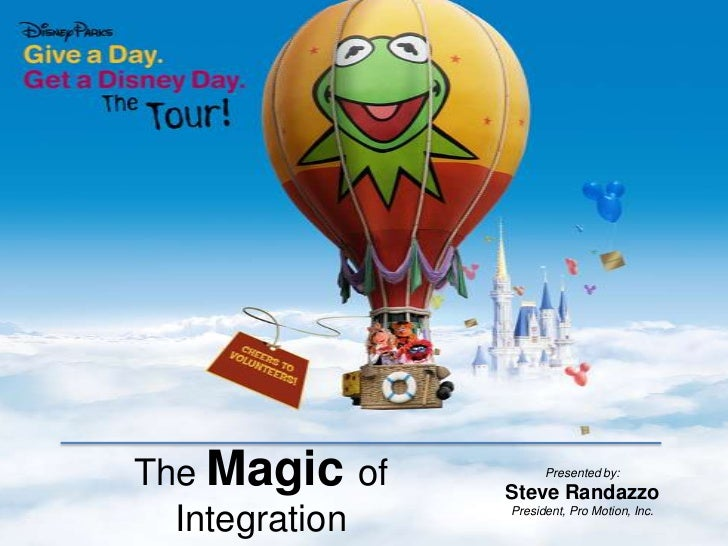The Magic of Integration<br />Presented by:<br />Steve Randazzo<br />President, Pro Motion, Inc.<br />