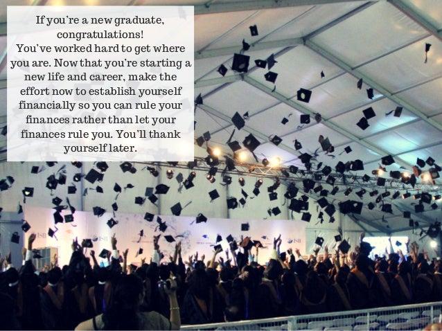 Steve Rice Los Gatos: Financial Tips For Recent College Graduates Slide 2