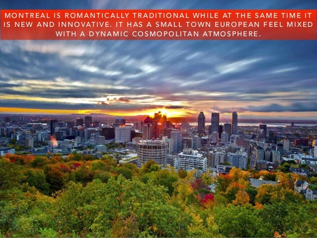 Steve Rice: Plan A Trip To Montreal Slide 2