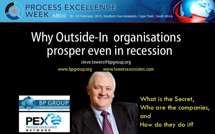 Why Outside-In organisations                        prosper even in recession                                             ...