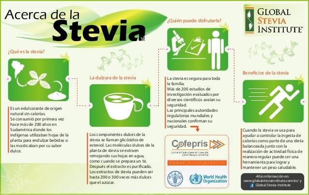 La stevia es segura para toda la familia. Más de 200 estudios de investigación evaluados por diversos científicos avalan s...