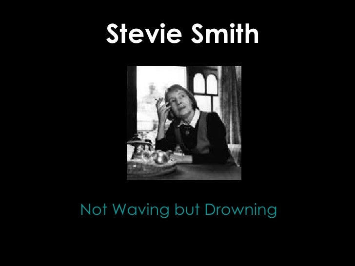 "A close reading of ""Not Waving but Drowning"""