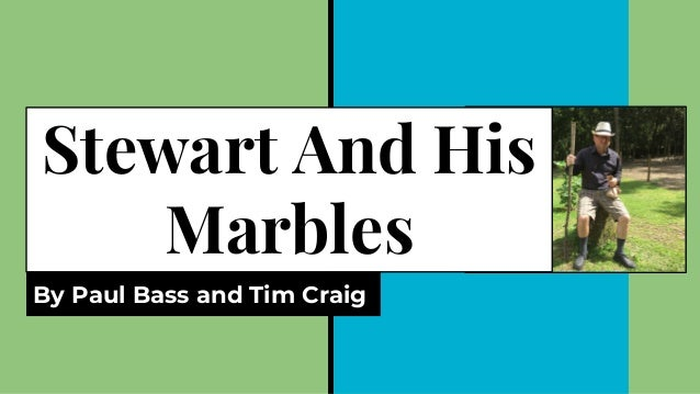 Stewart And His Marbles By Paul Bass and Tim Craig