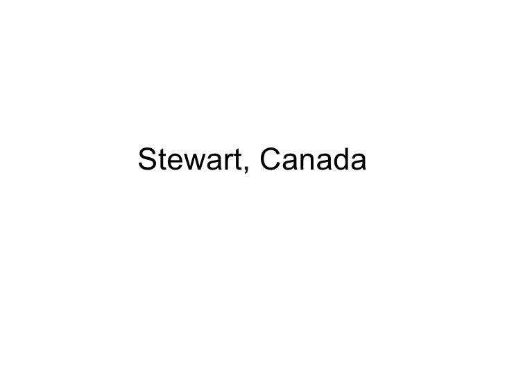 Stewart, Canada