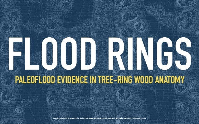 Development of a Framework for Technical Review of Paleoflood Information | Rockville, Maryland | May 29-30, 2019 PALEOFLOO...