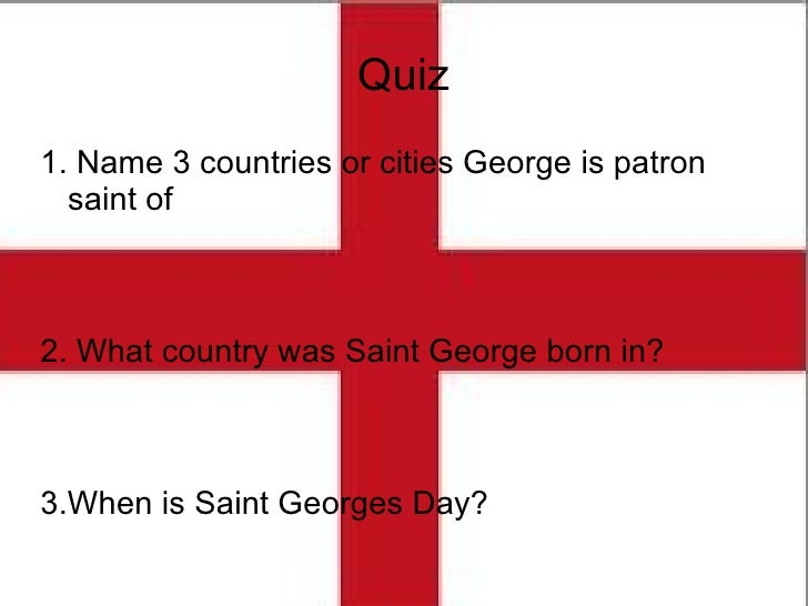 Georges Name
