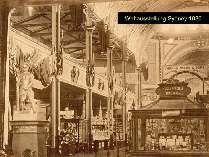 Weltausstellung Sydney 1880