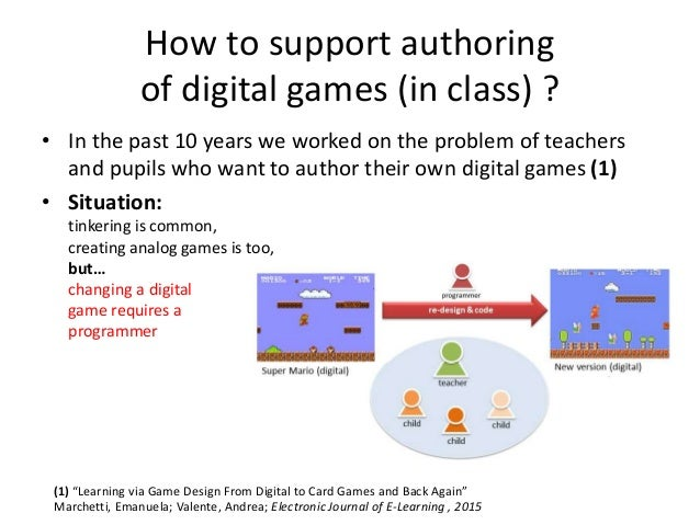 Stick & Click - the road towards friendly, classroom-centered interactive digital content authoring Slide 2