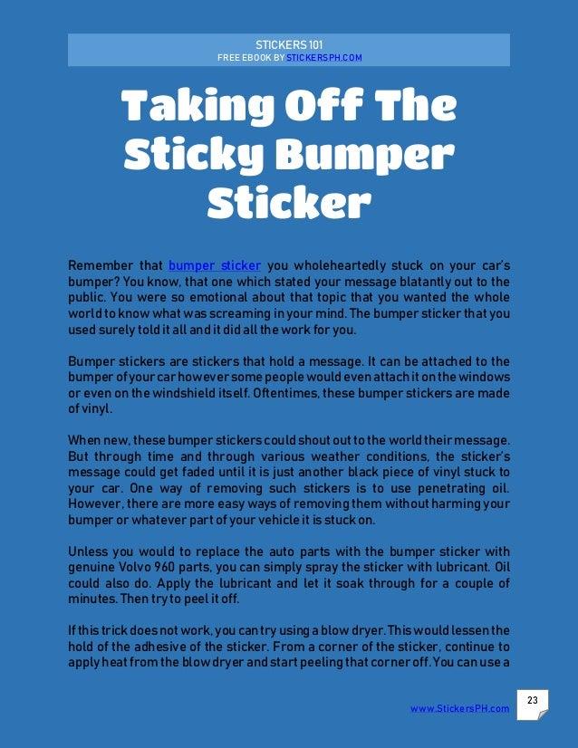 free auto parts stickers