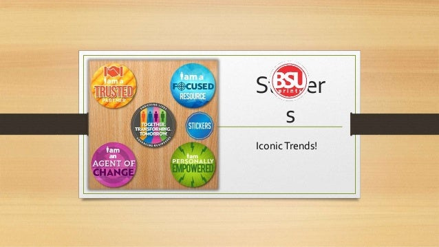 Sticker s iconictrends