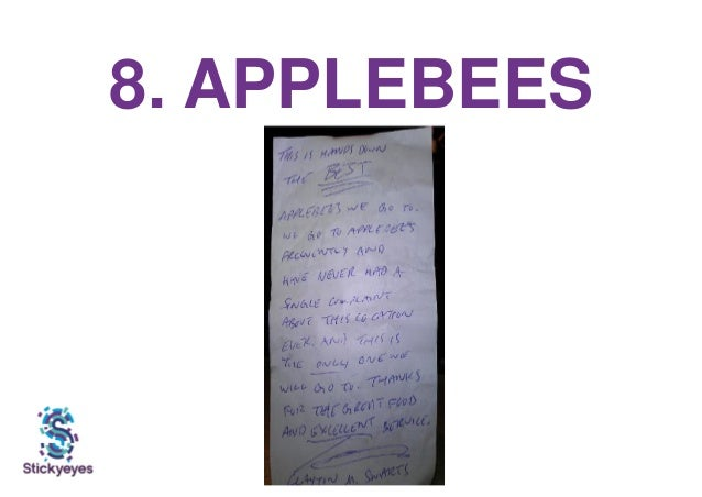 8. APPLEBEES