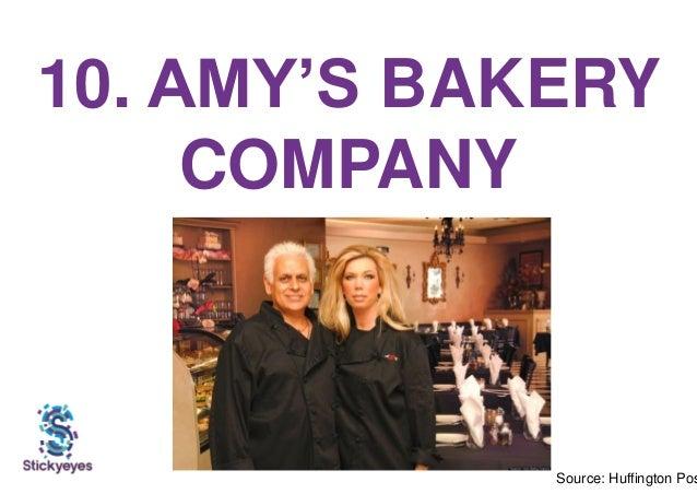 10. AMY'S BAKERY COMPANY Source: Huffington Pos