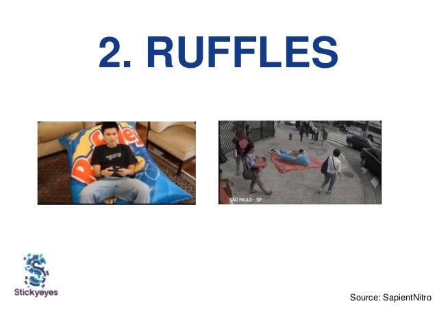 2. RUFFLES Source: SapientNitro
