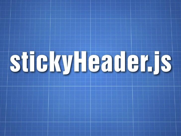 stickyHeader.js