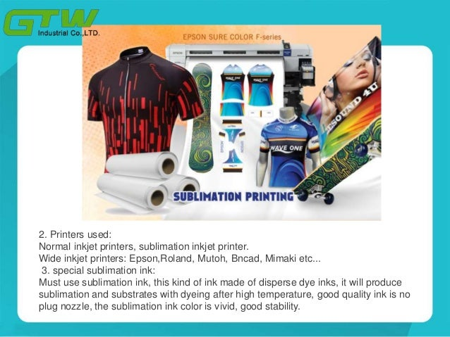 Sticky sublimation paper roll for sportswear Slide 3