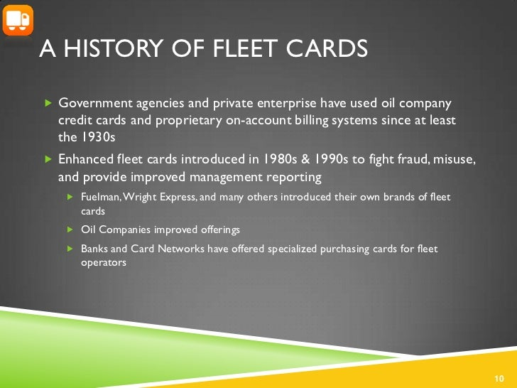 Fleet Credit Card Study 2011